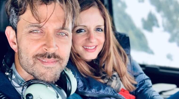 Hrithik Roshan thanks Sussanne Khan for temporarily moving in with him