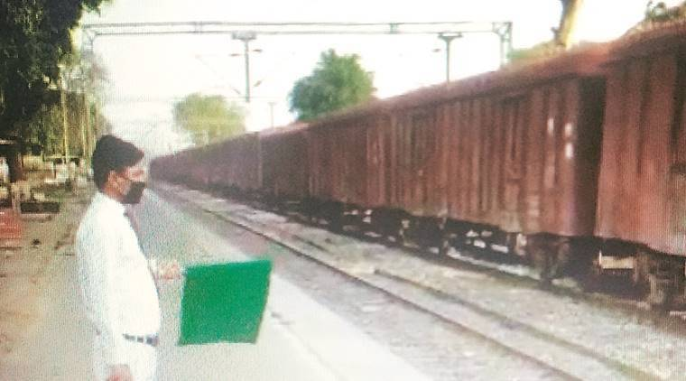 'Double' goods train transports 5,200 tonnes of rice and wheat to Assam