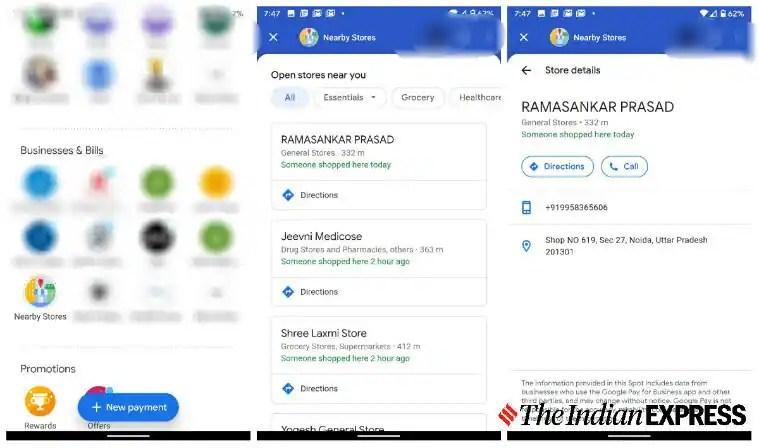 Google Pay, Google, Google Pay Nearby Stores feature, Google Pay Nearby Stores, Google Nearby Stores, Nearby open stores, find open essential stores, find open stores, COVID-19, coronavirus