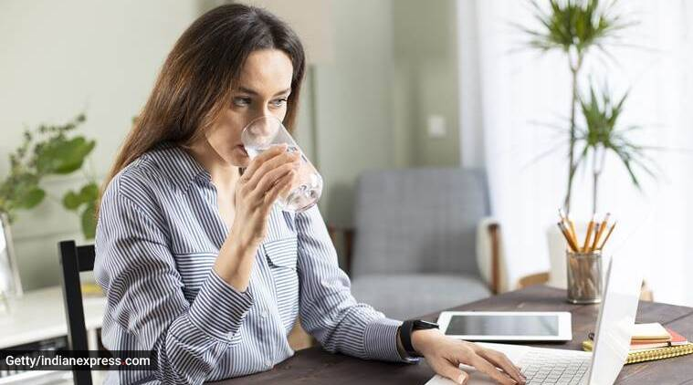water, how much water to drink, hydration, indianexpress.com, hydration tips, drinking water tips, lovneet batra, indianexpress, pink salt benefits, how to use pink salt, thirsty,