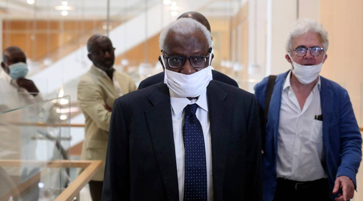 Lamine Diack fb Former IAAF head Lamine Diack sentenced to 2 years in prison