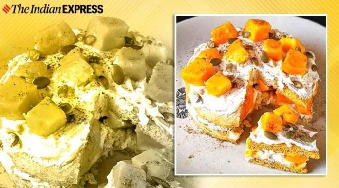 saransh goila, saransh goila recipes, easy recipe, pancake recipes, protein pancake, mango recipes, indianexpress.com, indianexpress, double mango protein pancake,