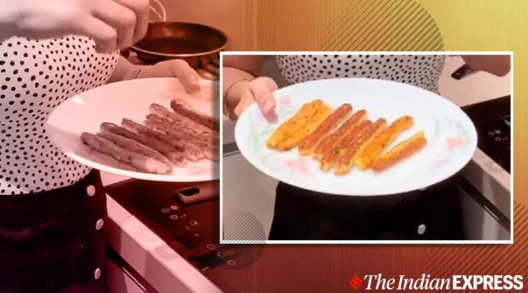 No Fry Aloo Cheese Fingers, easy recipes, meghna's food magic, meghna's recipes, indianexpress.com, indianexpress