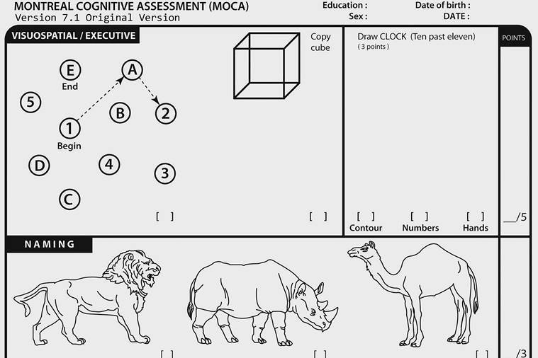 Donald Trump says he 'aced' a cognitive test. What does