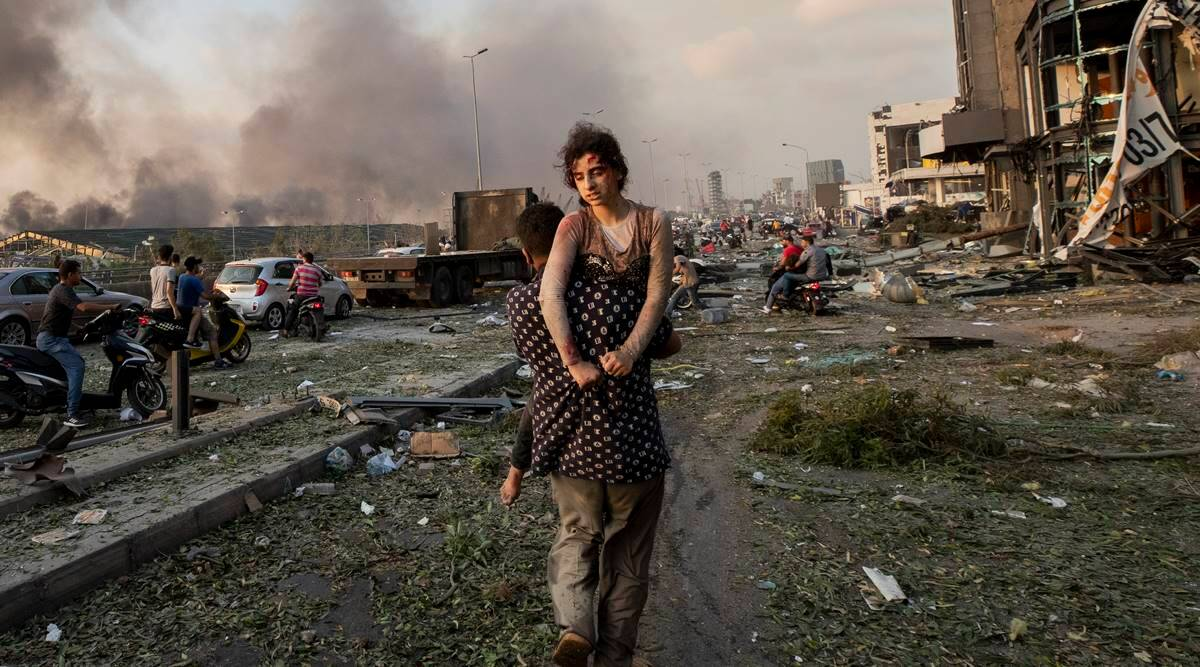 'The port came to us': The story behind this photo of Beirut blast | DAILY NEWS 2 YOU