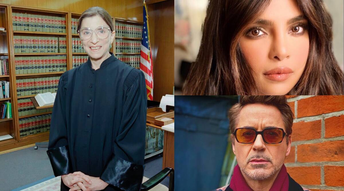 Priyanka Chopra, Mindy Kaling, Robert Downey Jr pay tribute to Ruth Bader Ginsburg