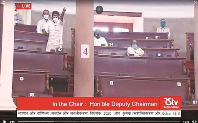 Deputy Chairman said Opp wasn't in seat when asking for division, RS TV shows otherwise