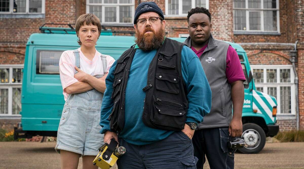 Truth Seekers trailer: Nick Frost and Simon Pegg reunite in this horror-comedy series
