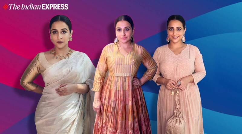 vidya - Vidya Balan's love for ethnic wear is evident in these pictures