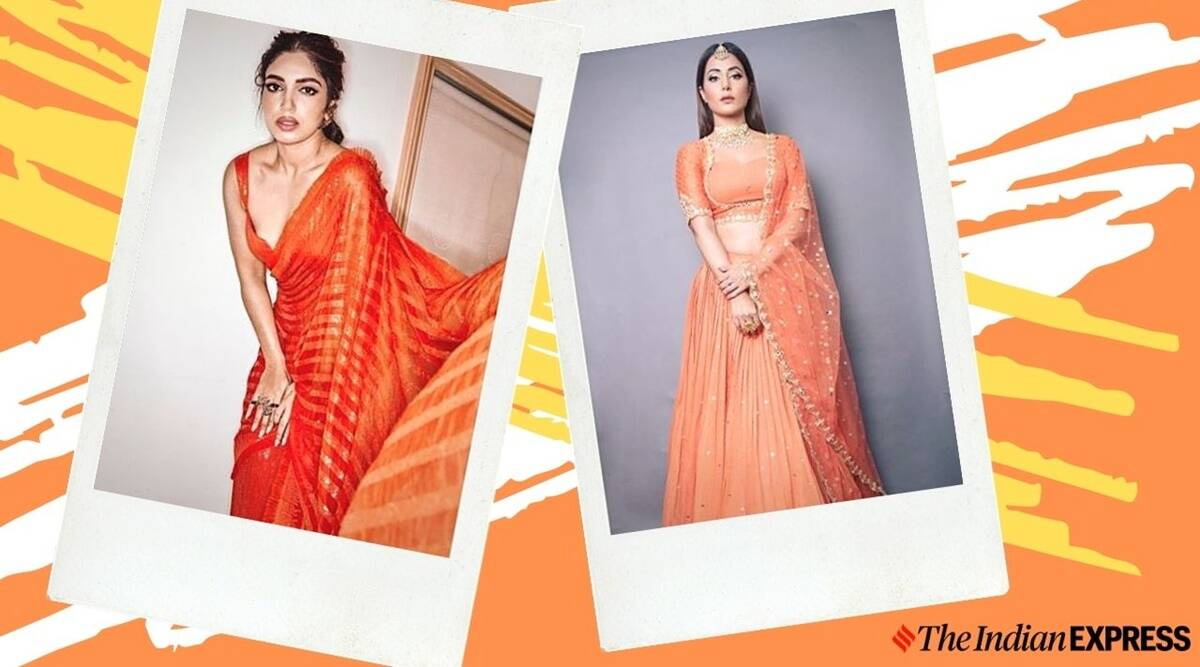 Beige Simple Photo Fashion Youtube Thumbnail 2 Navratri 2020 Day 2: Pack a punch with orange, take cues from Bollywood