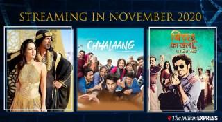 Streaming in November 2020: Chhalaang, Laxmii, Bicchoo Ka Khel and others