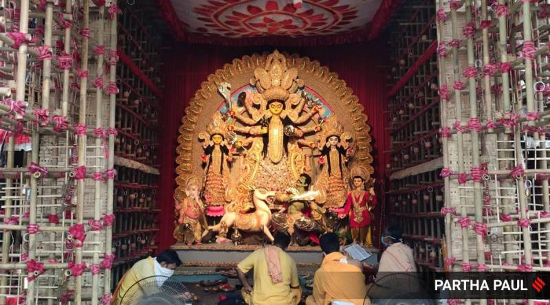 durga puja2 1 1 - Unable to pay Rs 200 each for Durga Puja, 14 Gond families face social boycott for two weeks