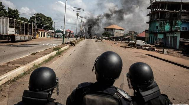 Guinea braces for political storm after bruising election