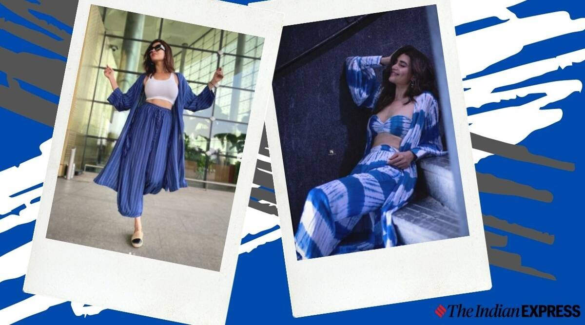 Beige Simple Photo Fashion Youtube Thumbnail 3 Karishma Tanna's wardrobe is all about stylish co-ord sets
