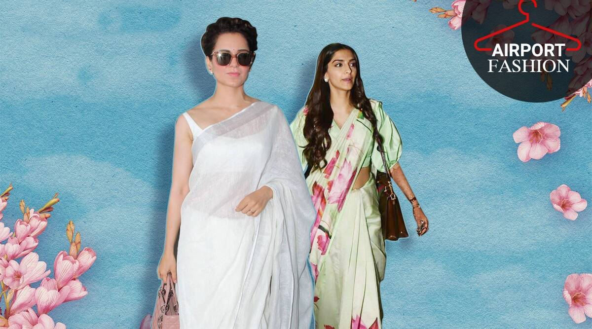 kangana and sonam 1 Airport looks: Travel with elegance for the festivities with these cues from your favourite B-Town celebs