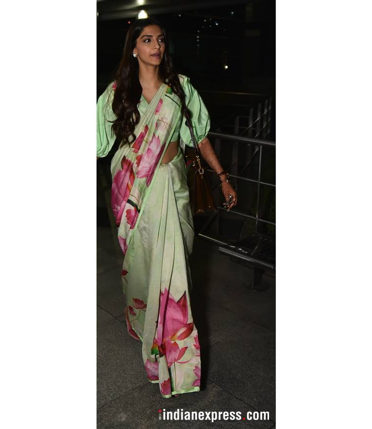 sonam kapoor 759 3 Airport looks: Travel with elegance for the festivities with these cues from your favourite B-Town celebs