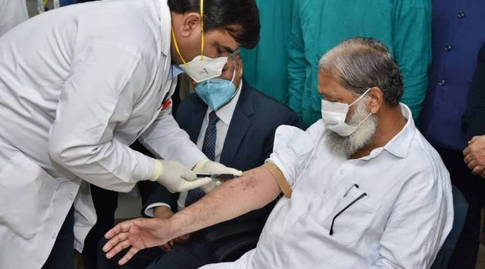 Anil Vij tests positive, days after taking trial Covid-19 vaccine shot |  India News,The Indian Express