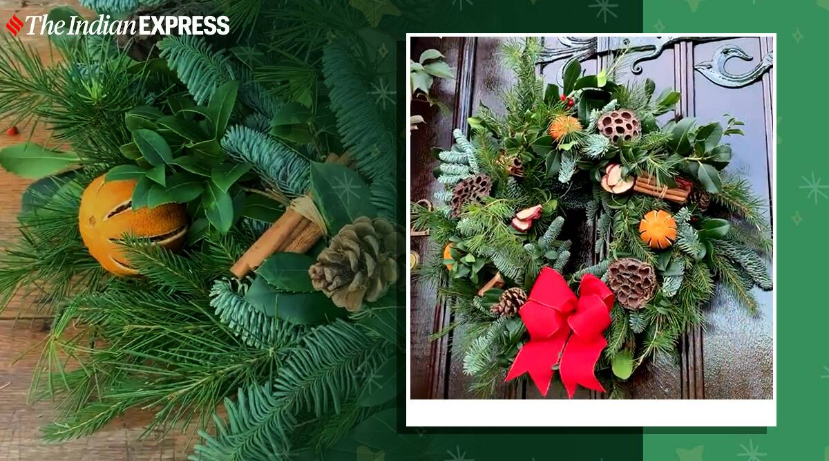 Christmas trees 1 Royal family shares Christmas door wreath tutorial; here's how to make yours