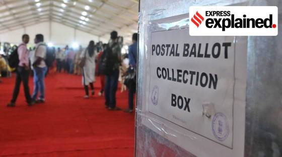 postcards, nris, postcards for nris, election commission, indian election rules, parliament news, indian express, express explained