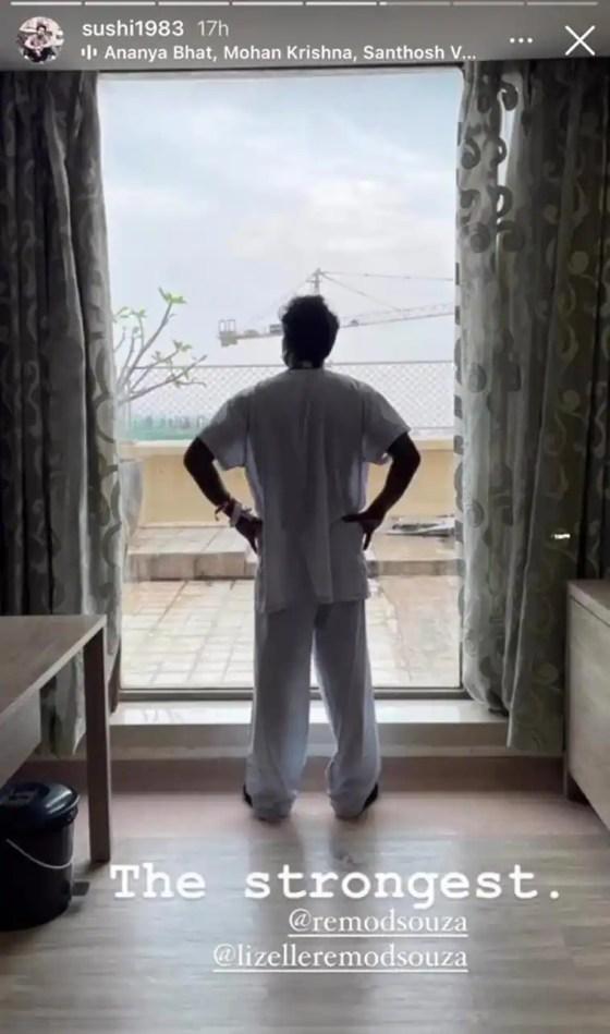 oar dsouza heart attack health update sushant pujari