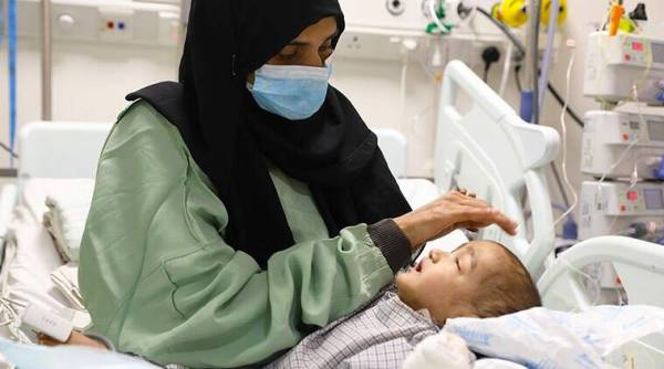1 15 1 The next 20 days of ICU care will decide baby Musab's fate against a deadly disease