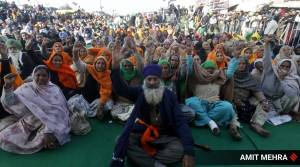 Panchkula farmers protest, farmers protest in Punjab, Singhu border protest, AAP Punjab, Congress Punjab, panchkula news, chandigarh news, chandigarh latest news, india news, indian express