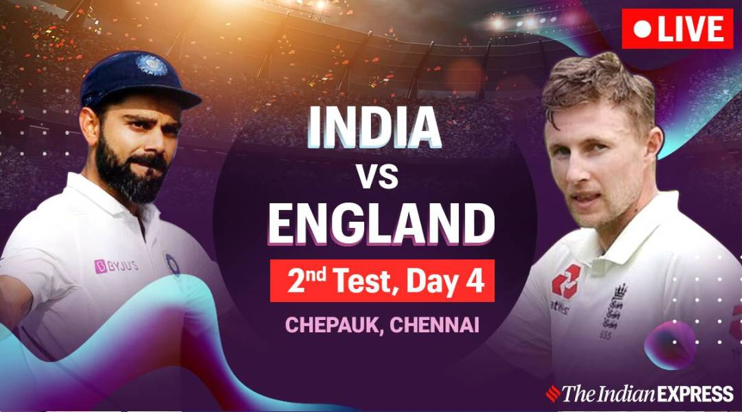 India vs England 2nd Test, Day 4 Live Score