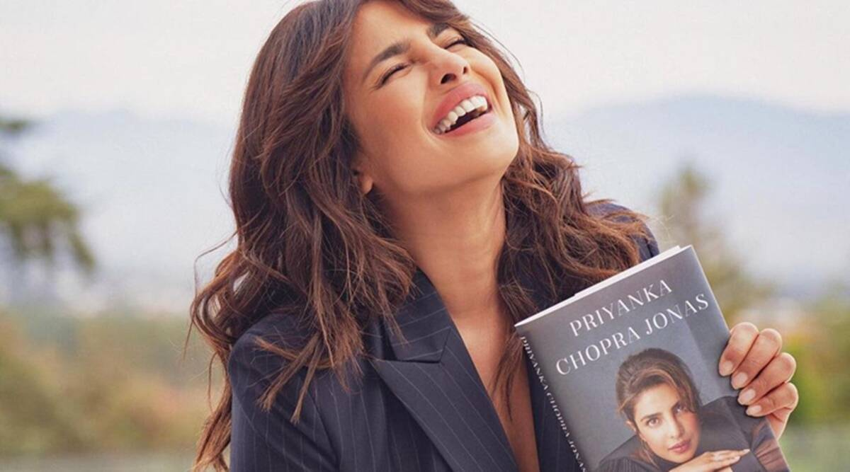 Priyanka Chopra's memoir Unfinished launch: 'Give this first-time-author a  chance'   Entertainment News,The Indian Express