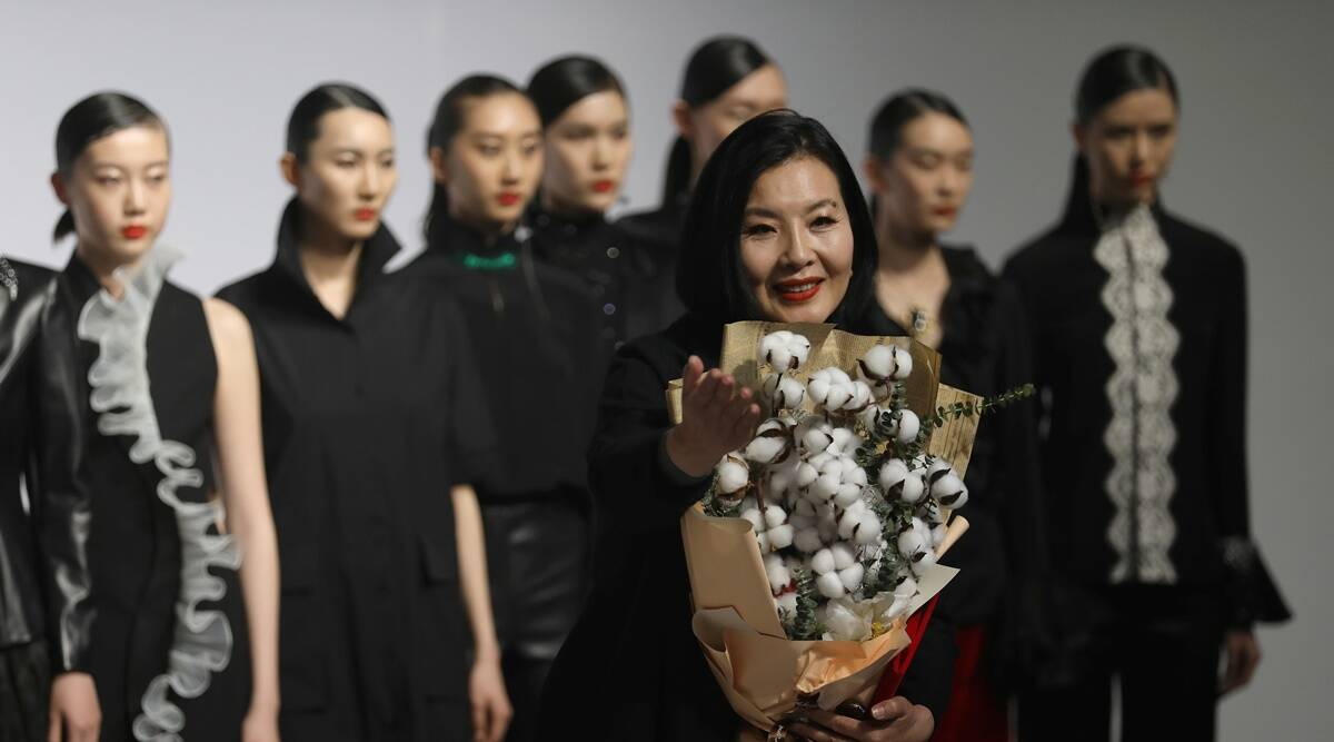 'Xinjiang cotton is my love': Patriots on show at China Fashion Week | Lifestyle News.The Indian Express
