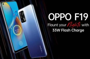 The Oppo F19 will be launched in India on April 6