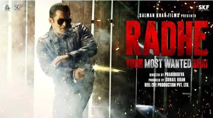 radhe movie telegram download link 720p, 480p, 1080p free torrent