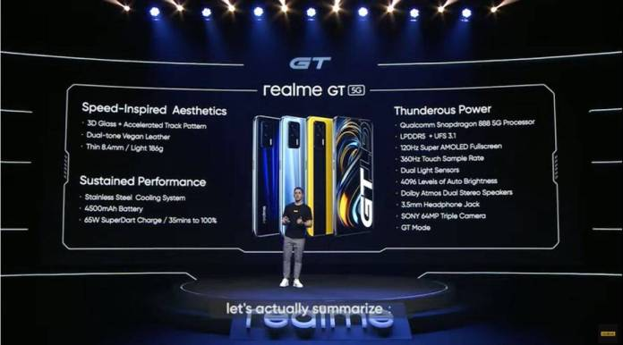 Realme GT 5G 9to5game