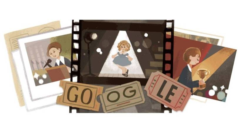 Shirley Temple: Google honours Hollywood icon with Doodle