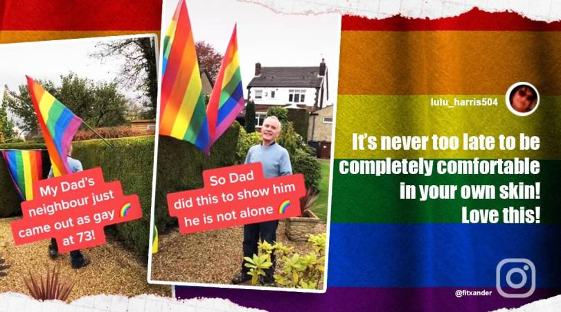 Man comes out as gay at 73, heartwarming video leaves netizens emotional