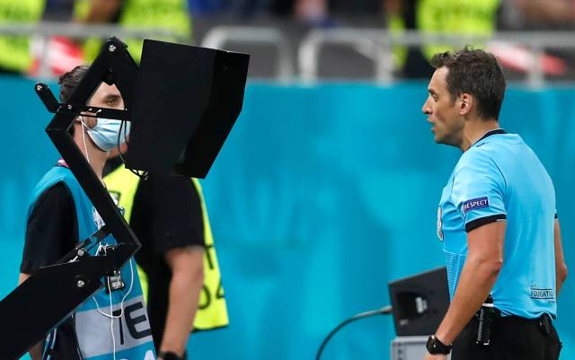 Calling time: Restrained refs kept Euro 2020 games flowing