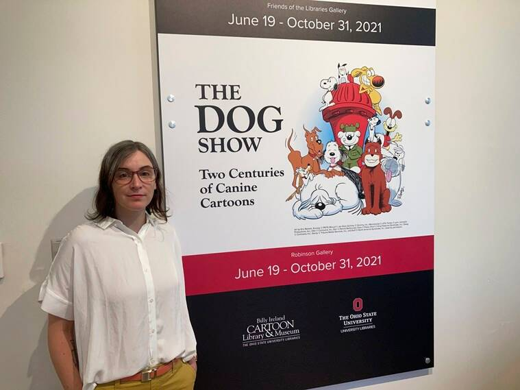 The Dog Show: Two Centuries of Canine Cartoons, cartoon dogs exhibition, famous cartoon dogs,