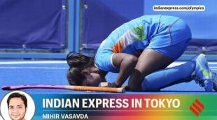 With hat-trick, Vandana powers India to first Olympic quarters in 4 years