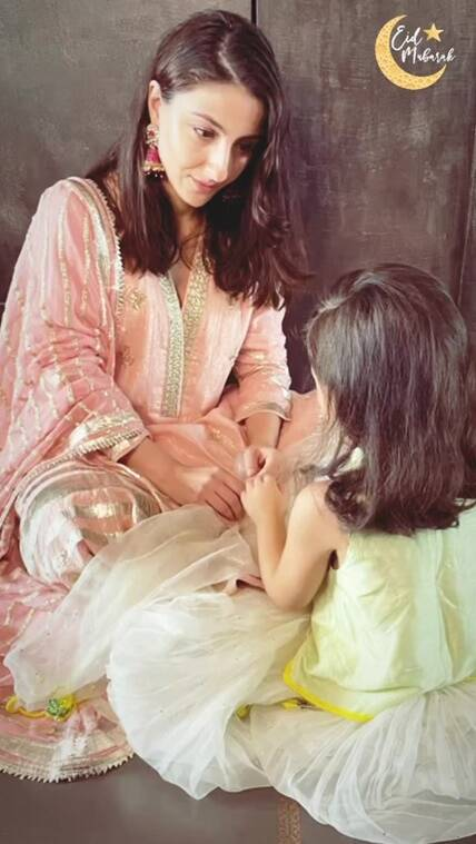 soha with daughter 2