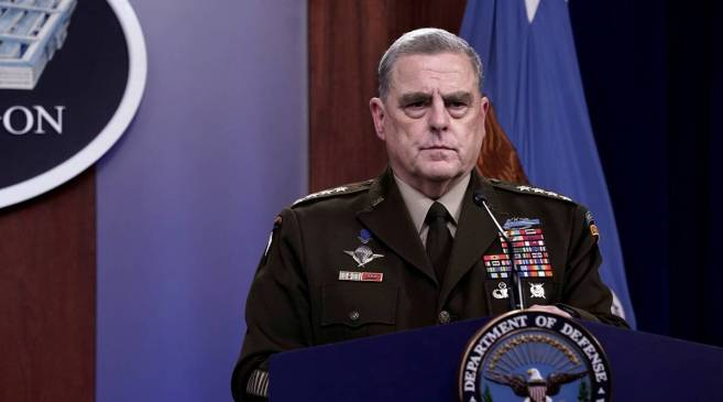 US top general secretly called China over fears Trump could spark war, says new book » .