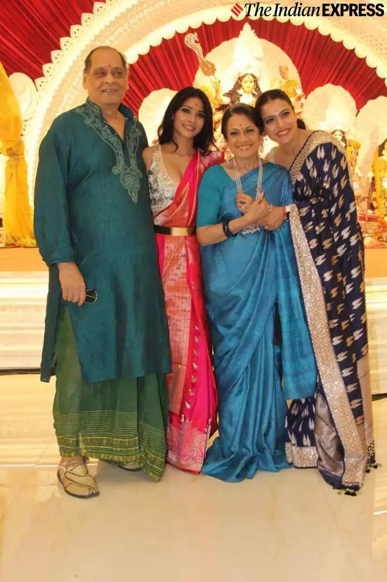 kajol family