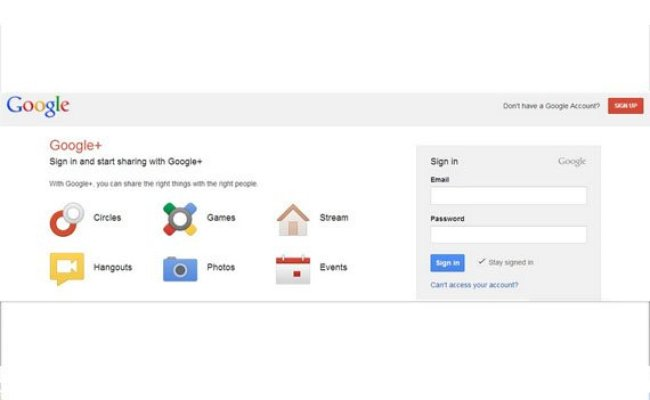 Google Abandons Google Sign Up Requirement For New Google