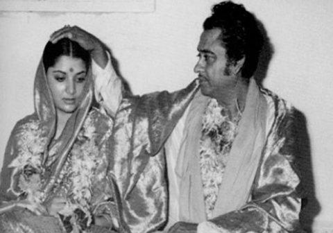 Image result for images of Kishore Kumar and Yogita Bali