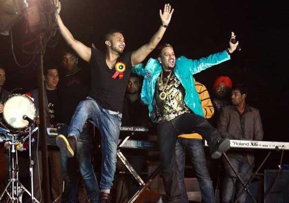 Honey Singh.