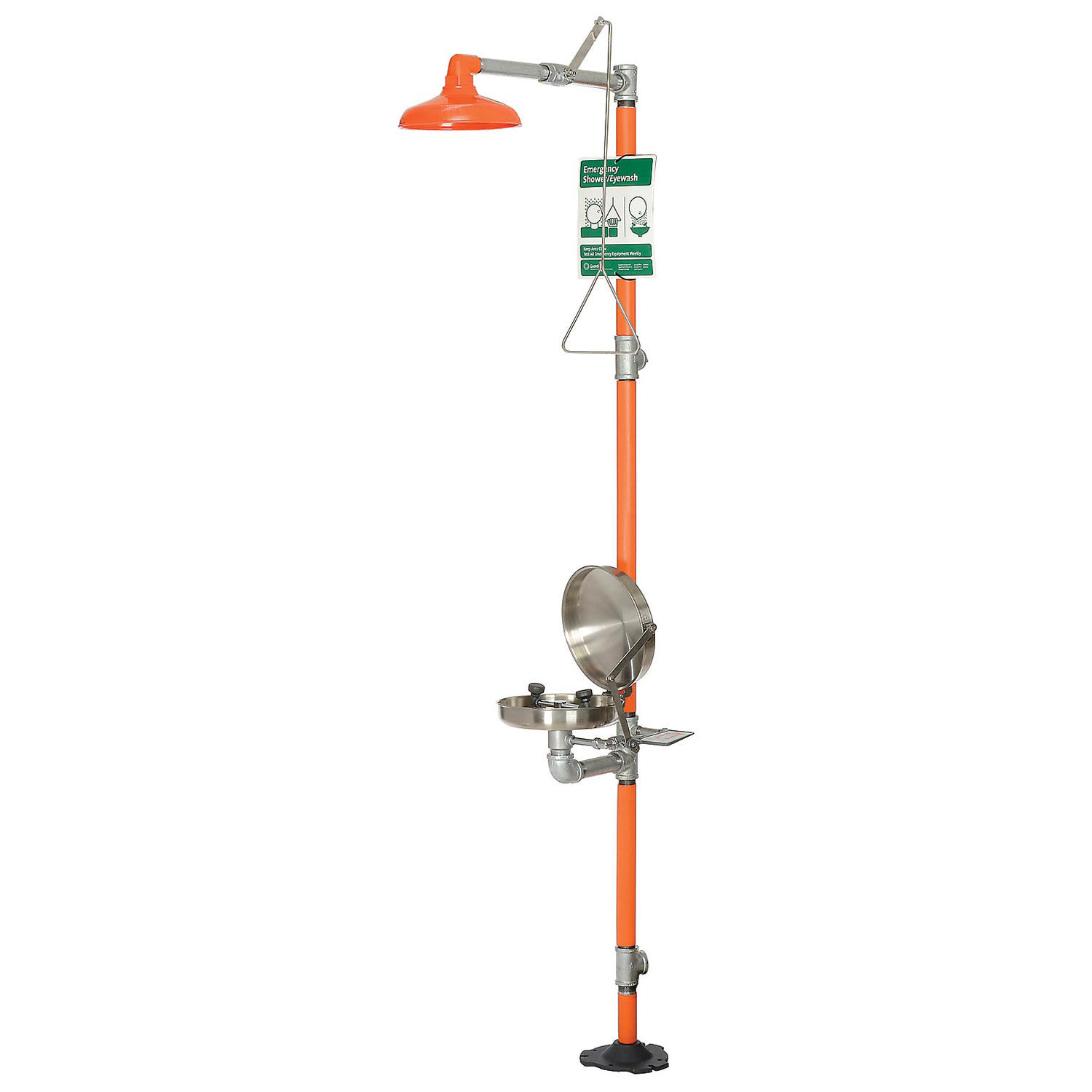 Guardian Equipment G1902BC Safety Station with Eye Wash