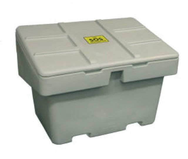 Bulk Containers Plastic Bulk Containers Techstar Sos Outdoor Storage Container 18 5 Cu Ft Light Gray  X 34
