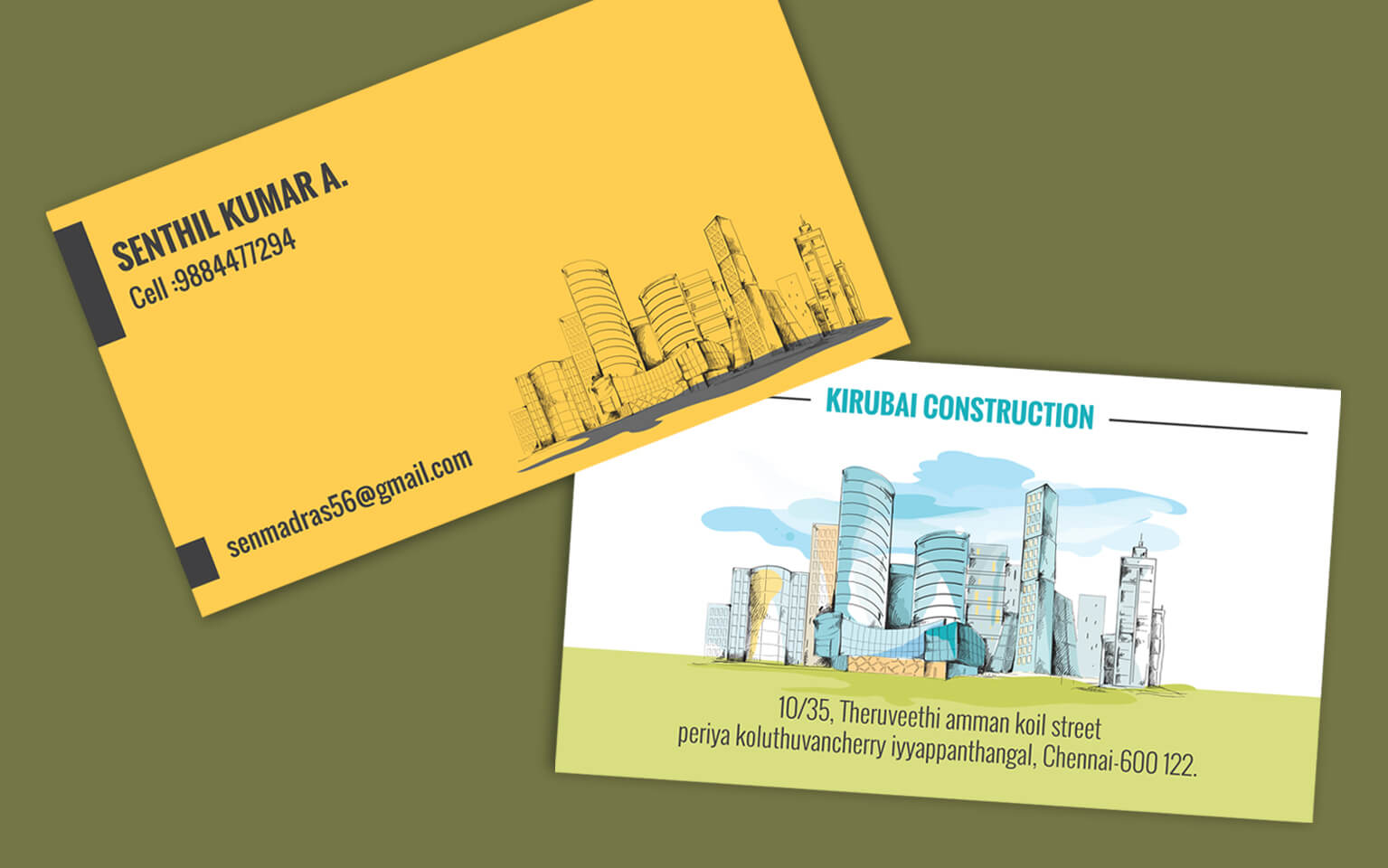 Business Card Builder Images Business Card Template