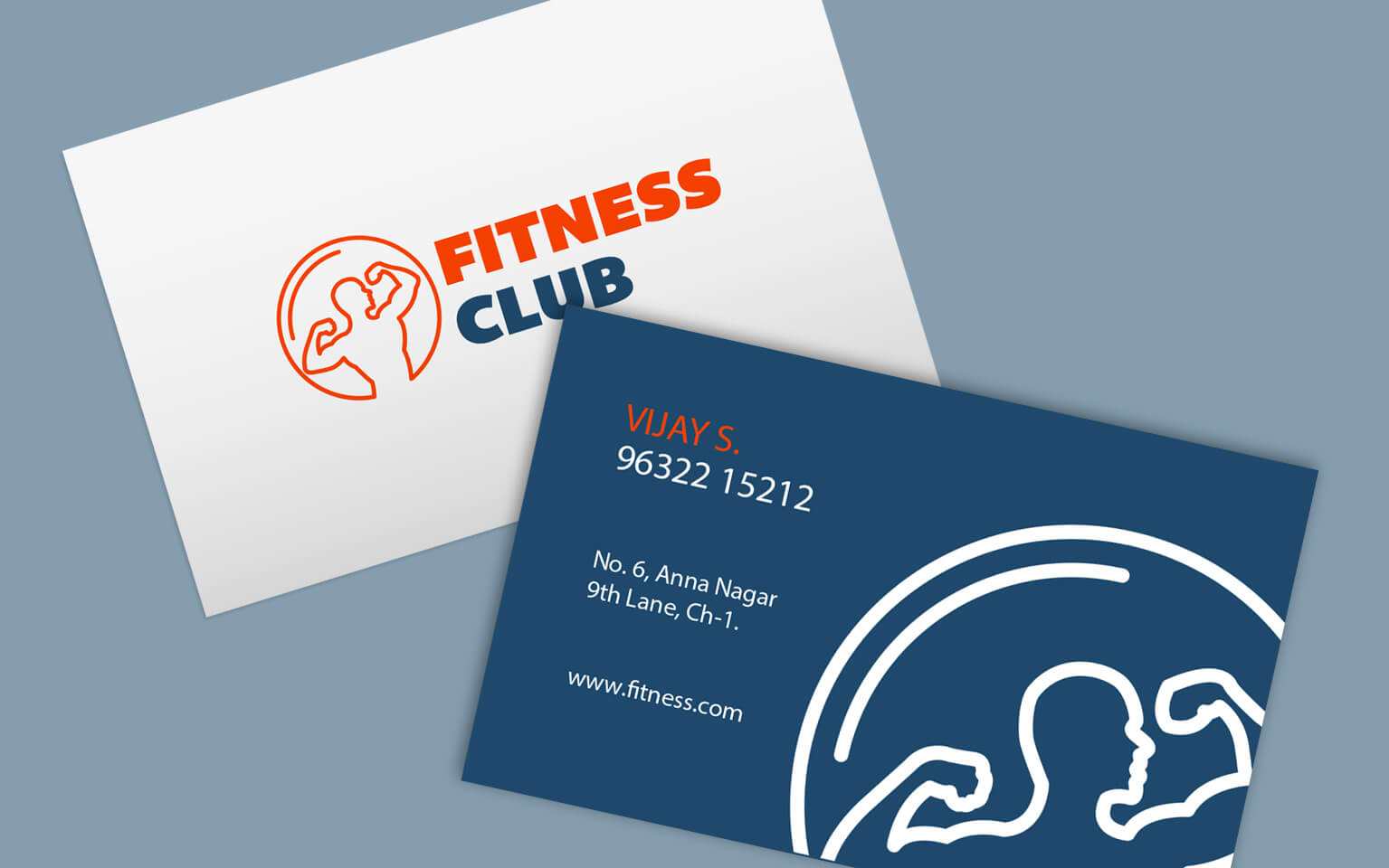 Business Card Gym Image Collections Business Card Template