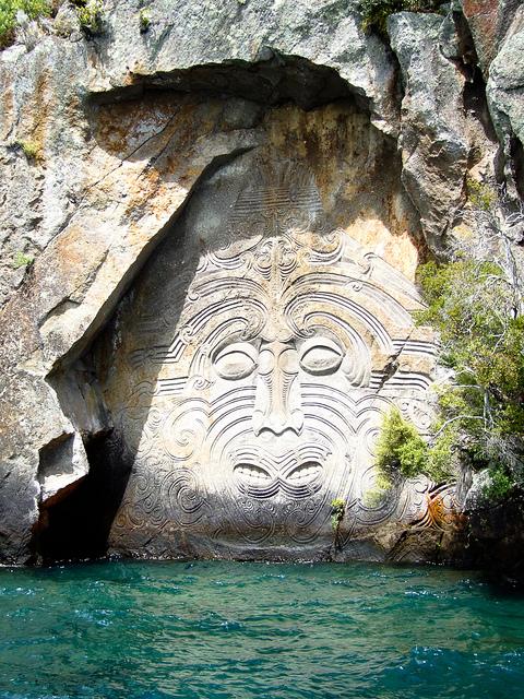 Mine Bay on Lake Taupo