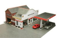 Metcalfe PO281 Service Station / Garage OO/HO Gauge Card ...