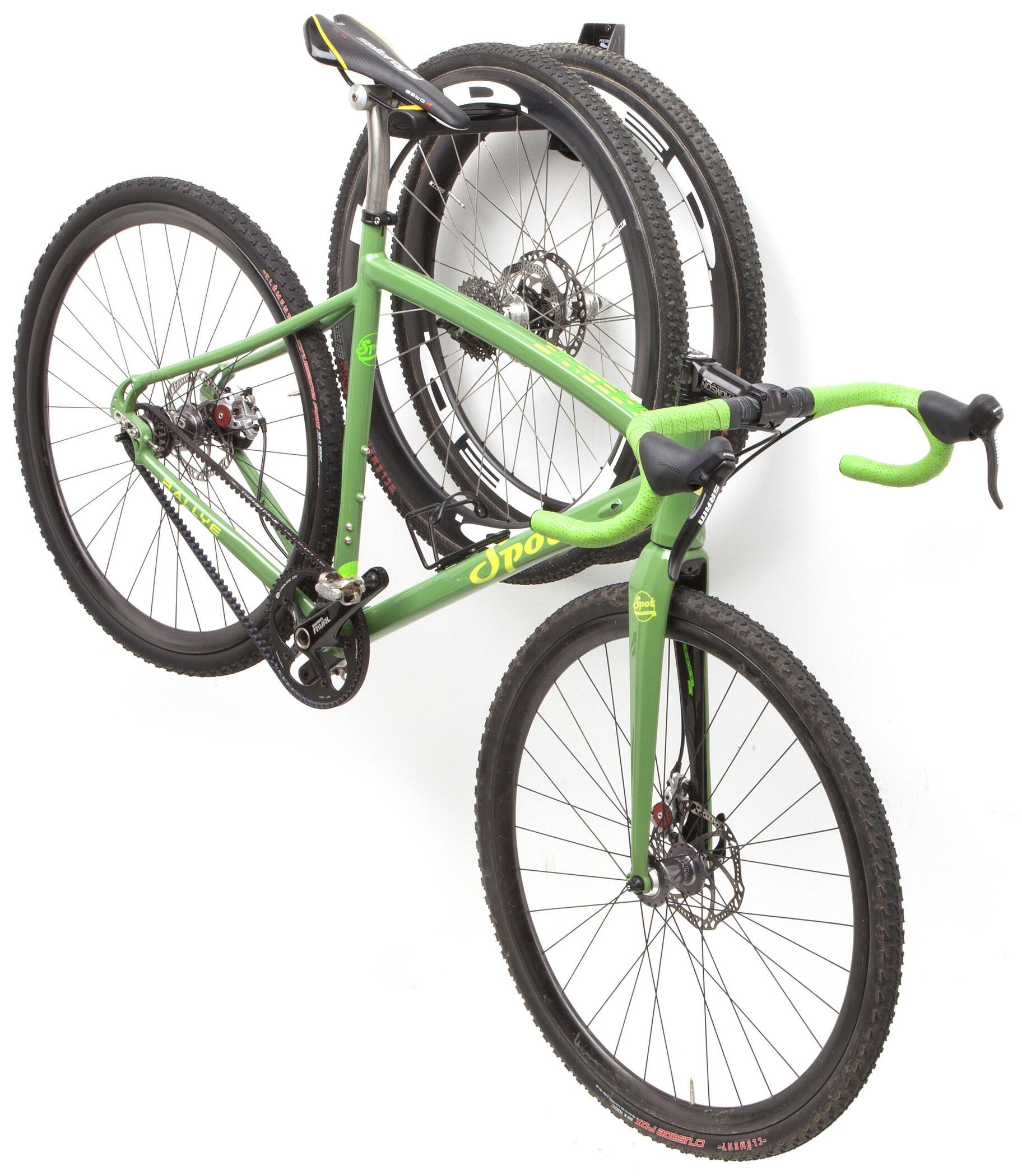 feedback sports velo wall post bike rack black